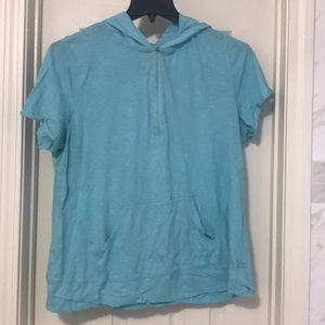 Lane Bryant active top in light blue size 14W/16W